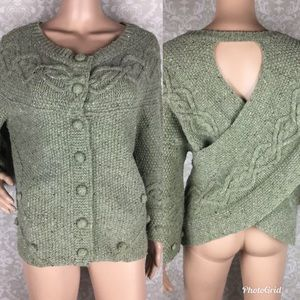 Far away from Close crossback sweater